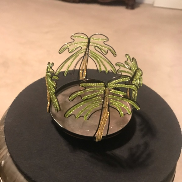 Other - Palm Tree Candle Holder